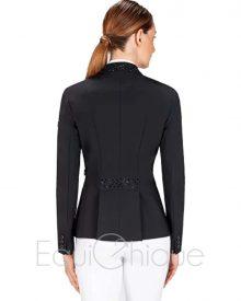 Equiline Gioia zwart voorkant wedstrijdjasje